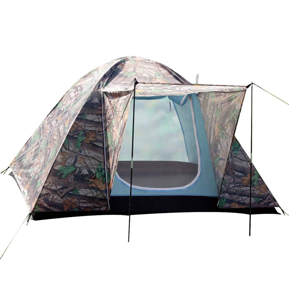 Sabarry Kuppelzelt Camping-Zelt 3-4 Personen Zelt Wasserdicht für 3 Personen Outdoor Familienzelt