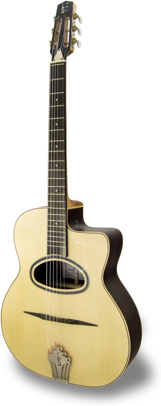 APC JMD Luthier Guitarra- Jazz Manouche D Hole - casos incluidos ...
