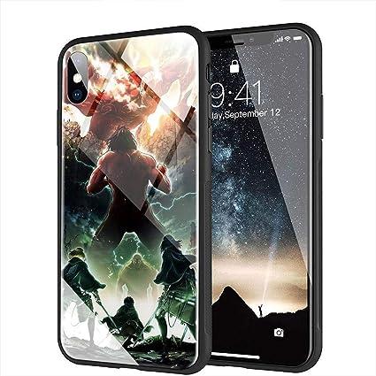 coque iphone xs attaque des titans