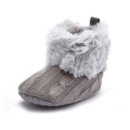 Amazemarket - Botas de nieve, gruesas, térmicas, mantiene calientes a los bebés,