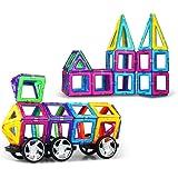 暖绒绒 磁力片 百变启蒙积木 创意玩具 拼插玩具 提拉积木 磁力建构片 磁性积木 益智玩具 儿童玩具礼物 (169件套装)