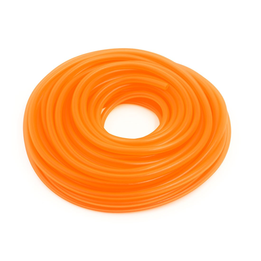 sourcing map Longueur 18M Silicone Orange tube flex combustible vide tube 4x8mm pour Voiture a16073000ux1468
