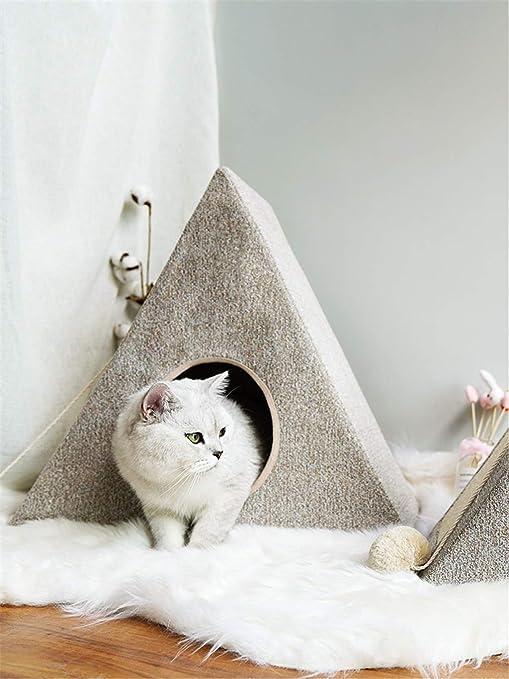 Cama de Gato | Cama para Gatos con Cojines y Cojines de ...