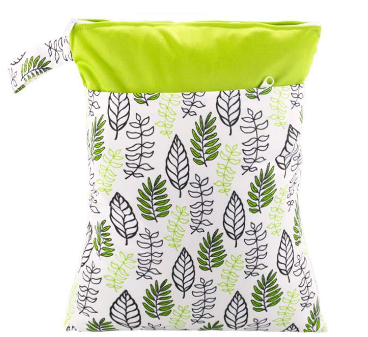 sable Wasserdicht Fashion Prints Nass Trocken Windel Tasche Doppel Tasche Tuch Griff Wetbags 30 EF159 40CM