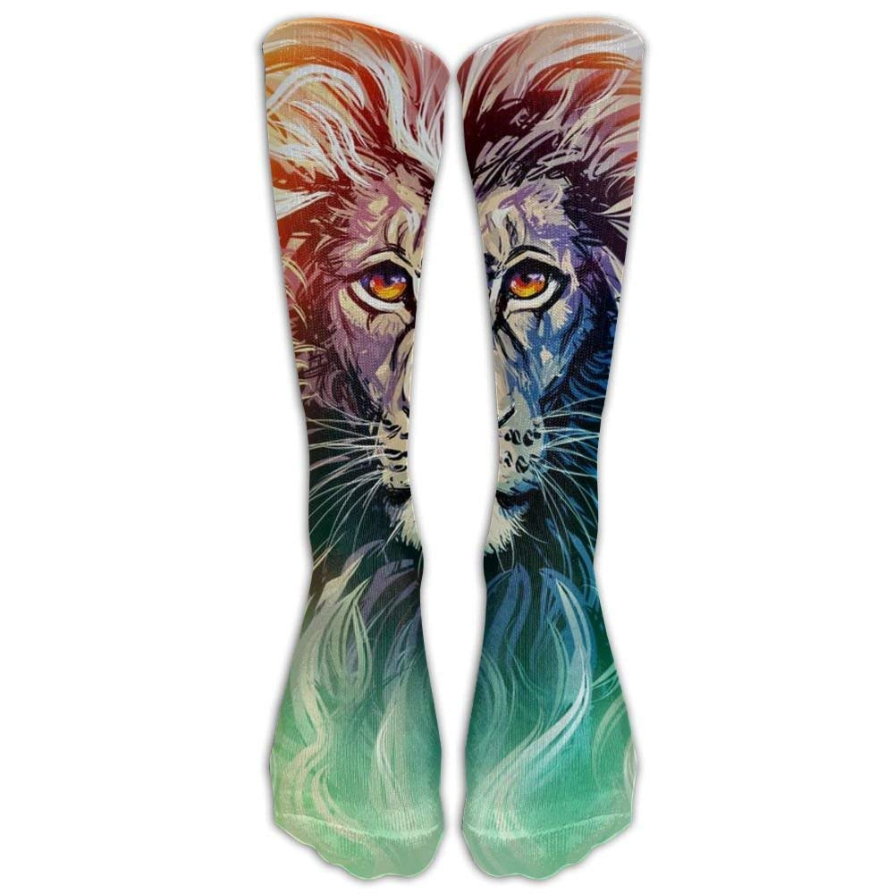 dongpujidiangongsi Gifts - Cool Lion King Green Print Stockings Breathable Hiking Socks Long Tube Socks Teens Girls Unisex 50CM: Amazon.es: Deportes y aire ...