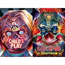 Artist Orlando Arocena Collection - Child's Play & Killer Klowns from Outer Space 2-DVD Exclusive Bundle