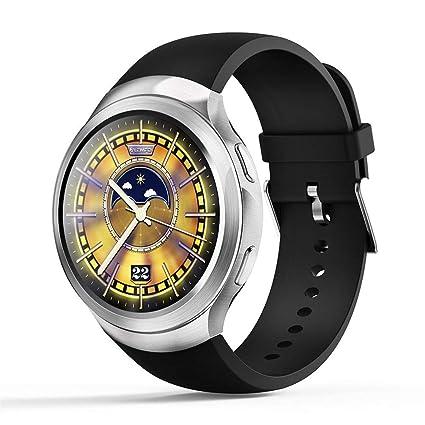JASZHAO Relojes Inteligentes Relojes Inteligentes Relojes Android 1GB + 16GB Detector de Ritmo cardíaco GPS WiFi