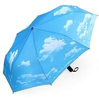 Plemo Automatic Umbrellas,Folding Travel Umbrella Auto Open and Close