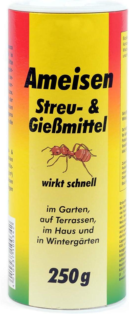 Gardigo hormigas dispersa de & Central de riego. 250 g, fabricado en Alemania, hormiga, hormiga polvo: Amazon.es: Jardín