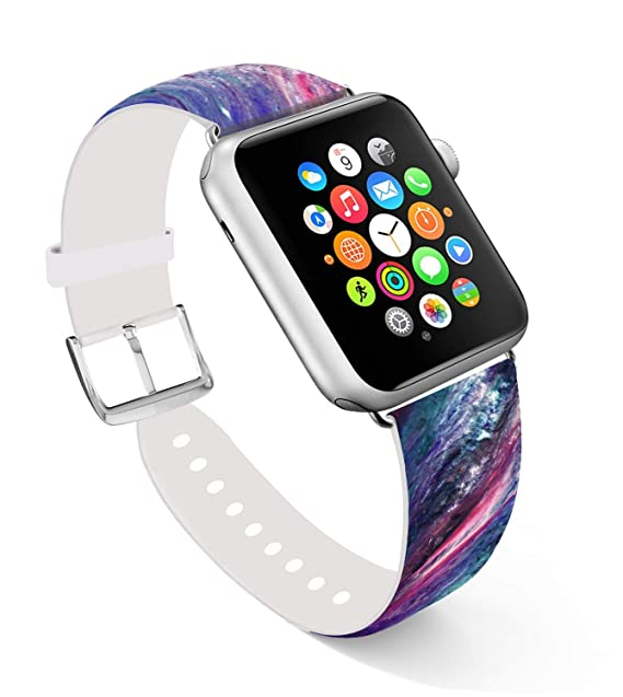 Amazon.com: Apple Watch banda, reemplazo de banda correa de ...
