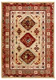 Stone & Beam Traditional Opulence Rug, 5' x 7', Burgundy