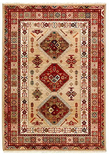 Stone & Beam Traditional Opulence Rug, 5' x 7', Burgundy by Stone & Beam