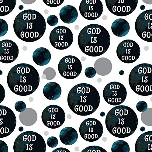 GRAPHICS & MORE God is Good Christian Inspirational Religious Premium Gift Wrap Wrapping Paper Roll