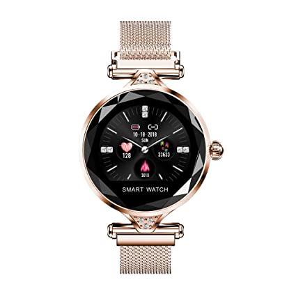 Cebbay Reloj de Dama Pantalla TFT en Color Detector de presión ...