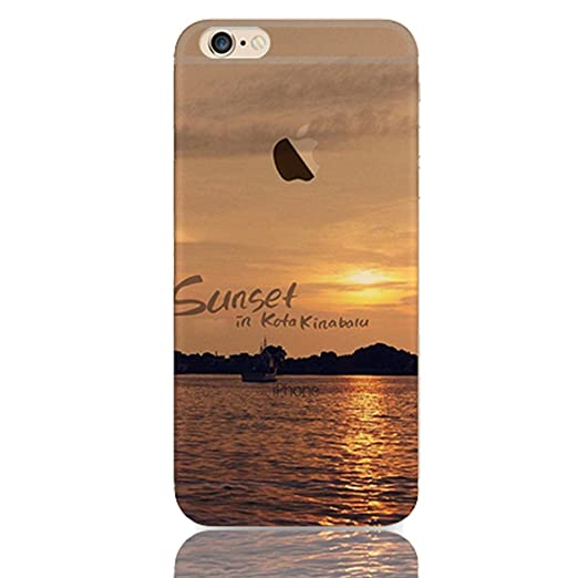 "126 opinioni per Sunroyal® Creative 3D TPU Custodia per Apple iPhone 6/6S 4.7"" Trasparente Chiaro"