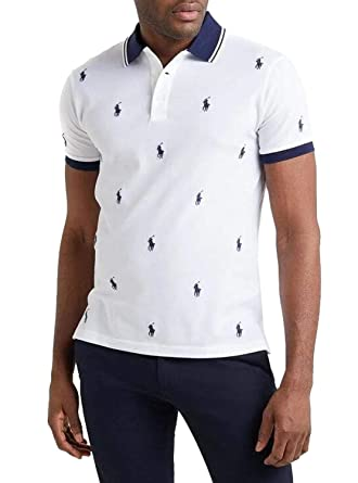 Polo Polo Ralph Lauren Knit Blanco Hombre XXL Blanco: Amazon.es ...