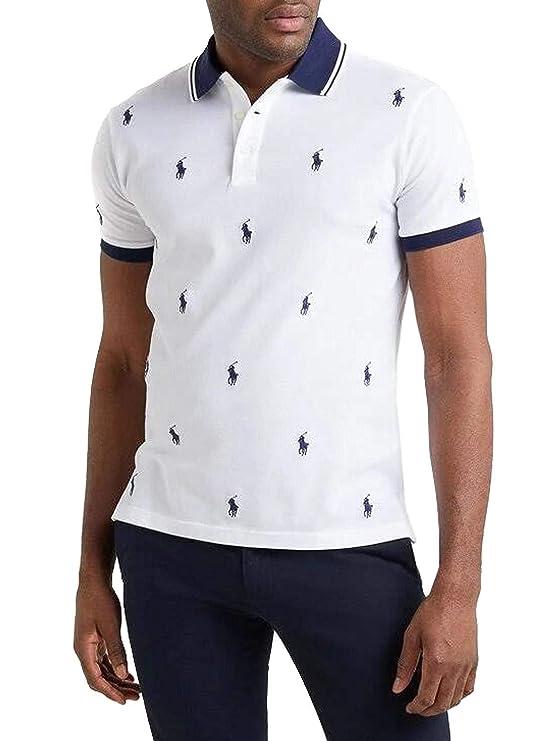 Polo Polo Ralph Lauren Knit Blanco Hombre XXL Blanco: Amazon.es ...