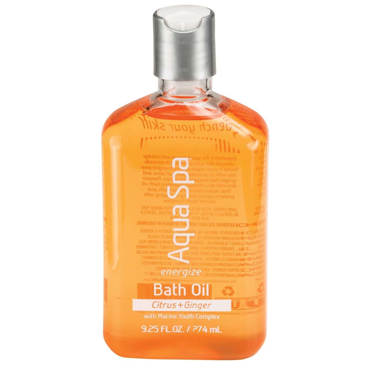 Aqua Spa Energize Bath Oil, 9.25 Fluid Ounce: Beauty