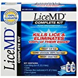 LiceMD Lice and Egg Removal Complete Kit, 2 ct(Pack of 9)