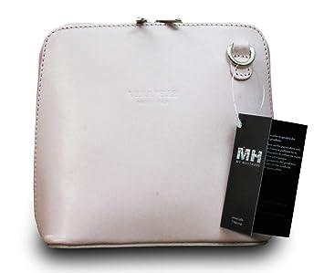 Made In Italy ECHT Leder Tasche Handtasche Vera Pelle Clutch