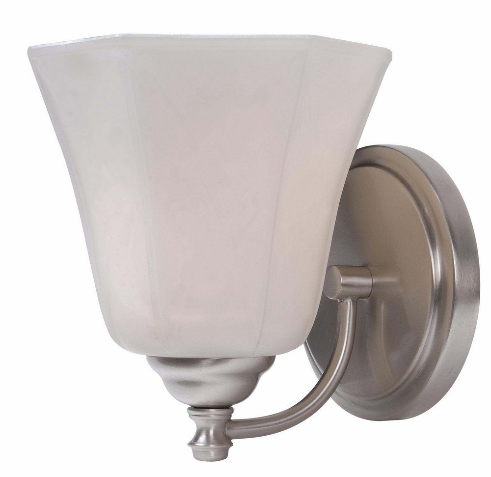 Kenroy Home Woodhill Brushed Steel One-Light Wall Sconce