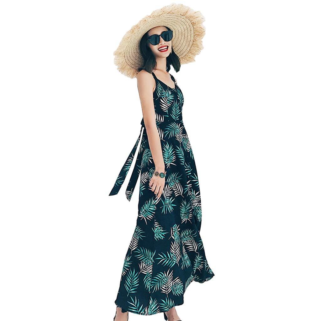 Falda de playa Vestidos Vacaciones Junto Al Mar Vestido con ...