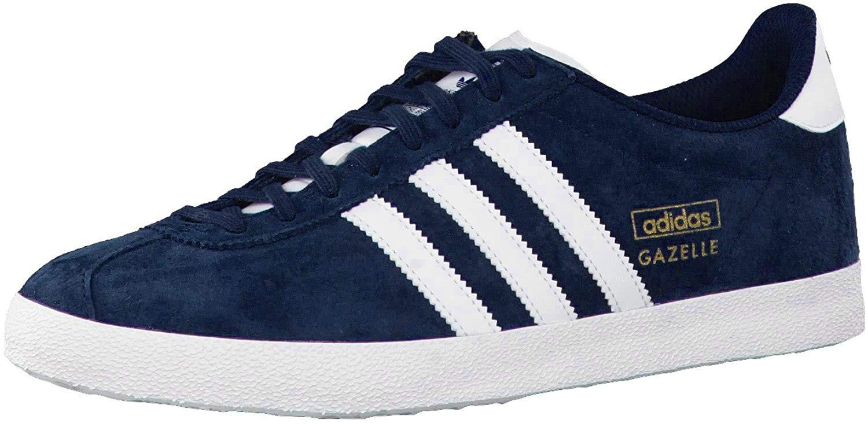 adidas Gazelle Og, Men's Trainers, Blue ( Dark Indigo/Running ...