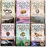 img - for Winston Graham Poldark Series 6 Books Collection Set A Novel of Cornwall (Ross Poldark, Demelza, Jeremy Poldark, Warleggan, The Black Moon, The Four Swans) book / textbook / text book
