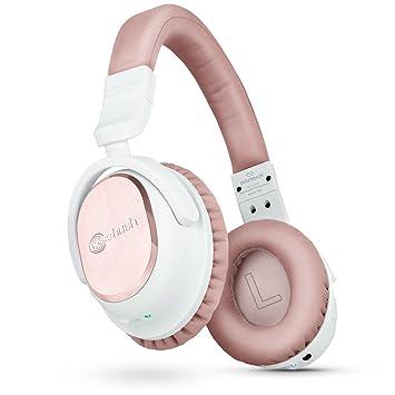 Naztech i9 BT activa tecnología de cancelación de ruido auriculares de diadema, aptX Bluetooth 4.1