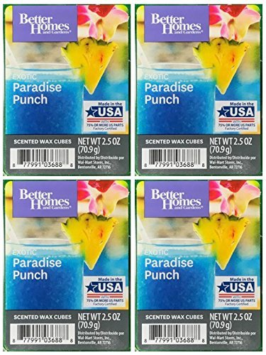 Better Homes and Gardens Exotic Paradise Punch Wax Cubes - 4-Pack