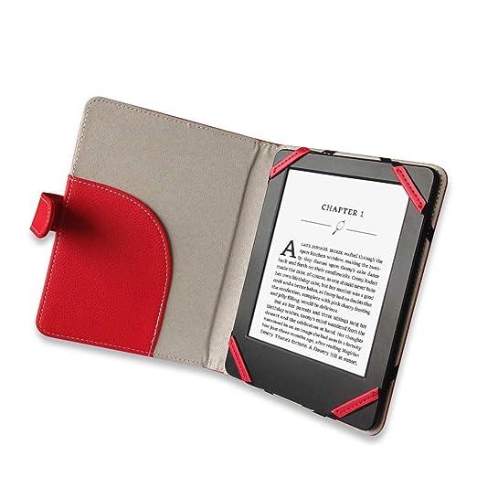 Libro Estilo Litch Funda de Piel sintética para Lector de eBook 6 ...