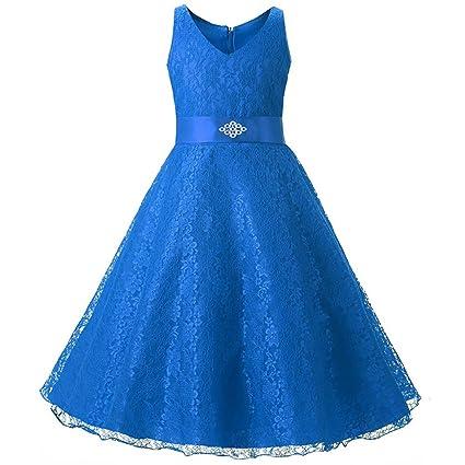 Navidad chica Niños Princesa Vestido Punta formal Ropa Fiesta Vestido dama de honor Pageant Tutu tul