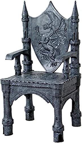 Cheap Design Toscano Dragon of Upminster Castle Throne Chair living room chair for sale