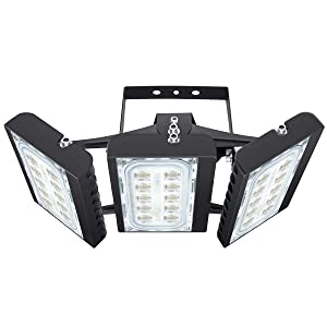 LED Flood Light Outdoor, STASUN 150W 13500lm LED Security Lights with 330°Wide Lighting Area, 6000K Daylight, OSRAM LED Chips, Adjustable Heads, Waterproof, Great for Yard, Street, Parking Lot