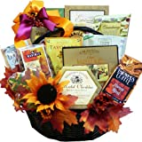 Fall Fantasy Thanksgiving Gourmet Food and Snacks Gift Basket