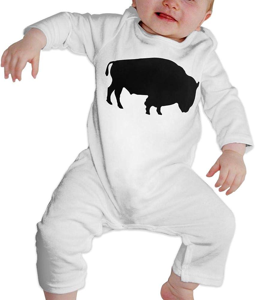 A14UBP Newborn Infant Baby Girls Boys Romper Bodysuit Infant Time for Judo Long Sleeve Funny Climb Romper