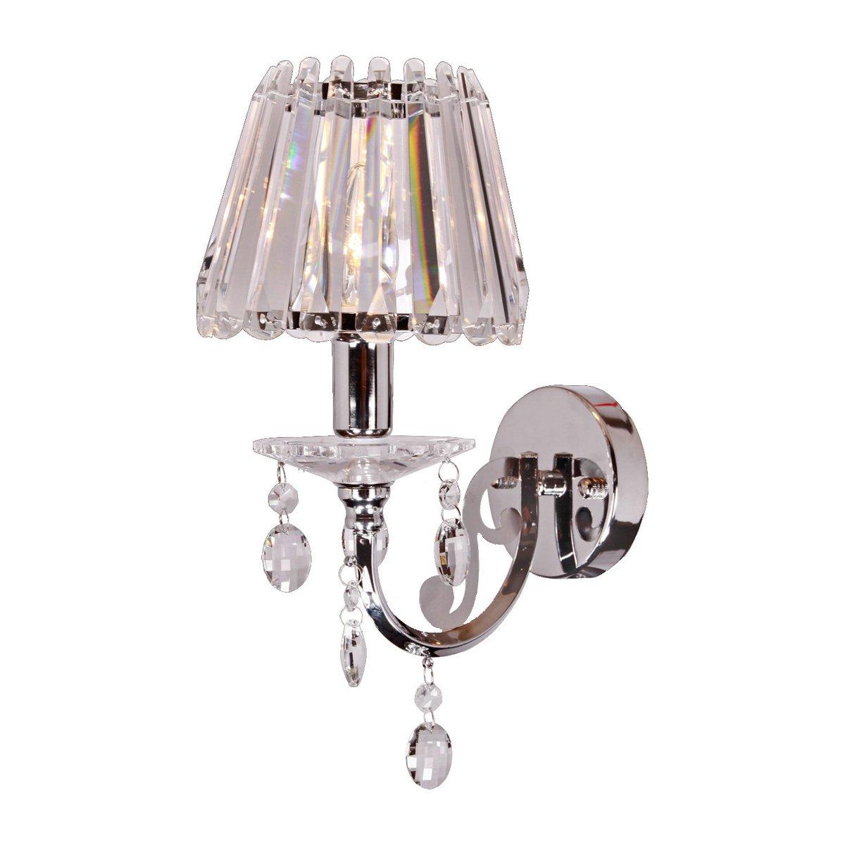 DINGGU™ Modern Luxury 1 Light Crystal Wall Lamp Bedside Light Fixtures For Living Room,Bedroom,Hallway