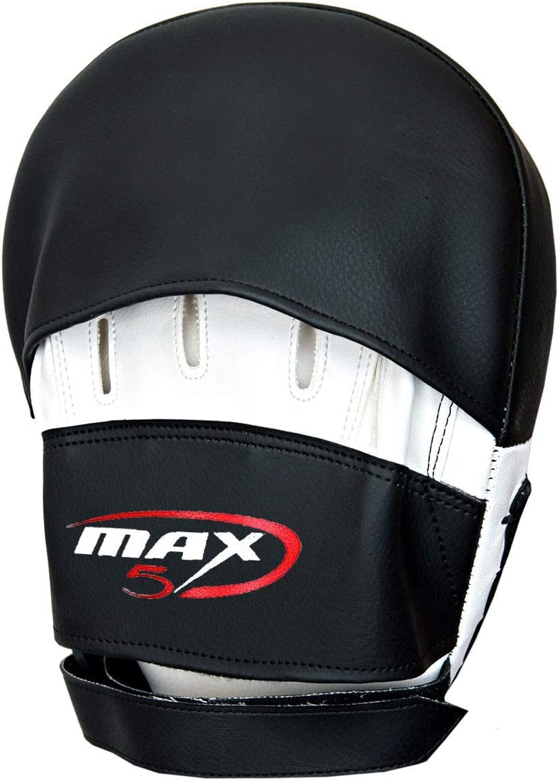 Boxing Curved Focus Pads MMA Kick Target Shield Punch Fight Mitts Training Punching