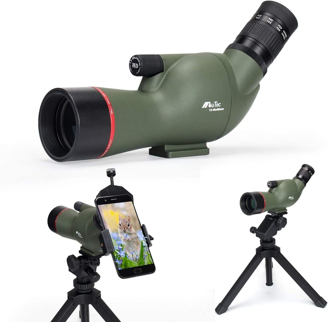 Gosky HD Waterproof Spotting Scope