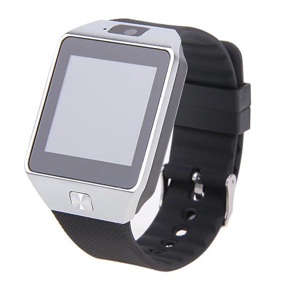 Amazon.com: AFfeco SIM Card Smartwatch DZ09 Smart Watch With ...