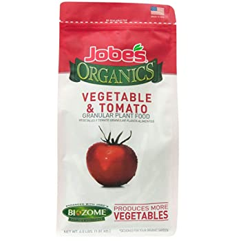 Best Budget Organic Fertilizer for Outdoor and Indoor: Jobe's Organics Veggie and Tomato Fertilizer