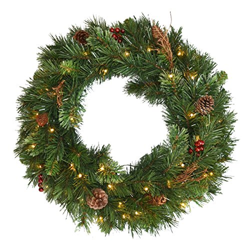 led wreath outdoor - 6