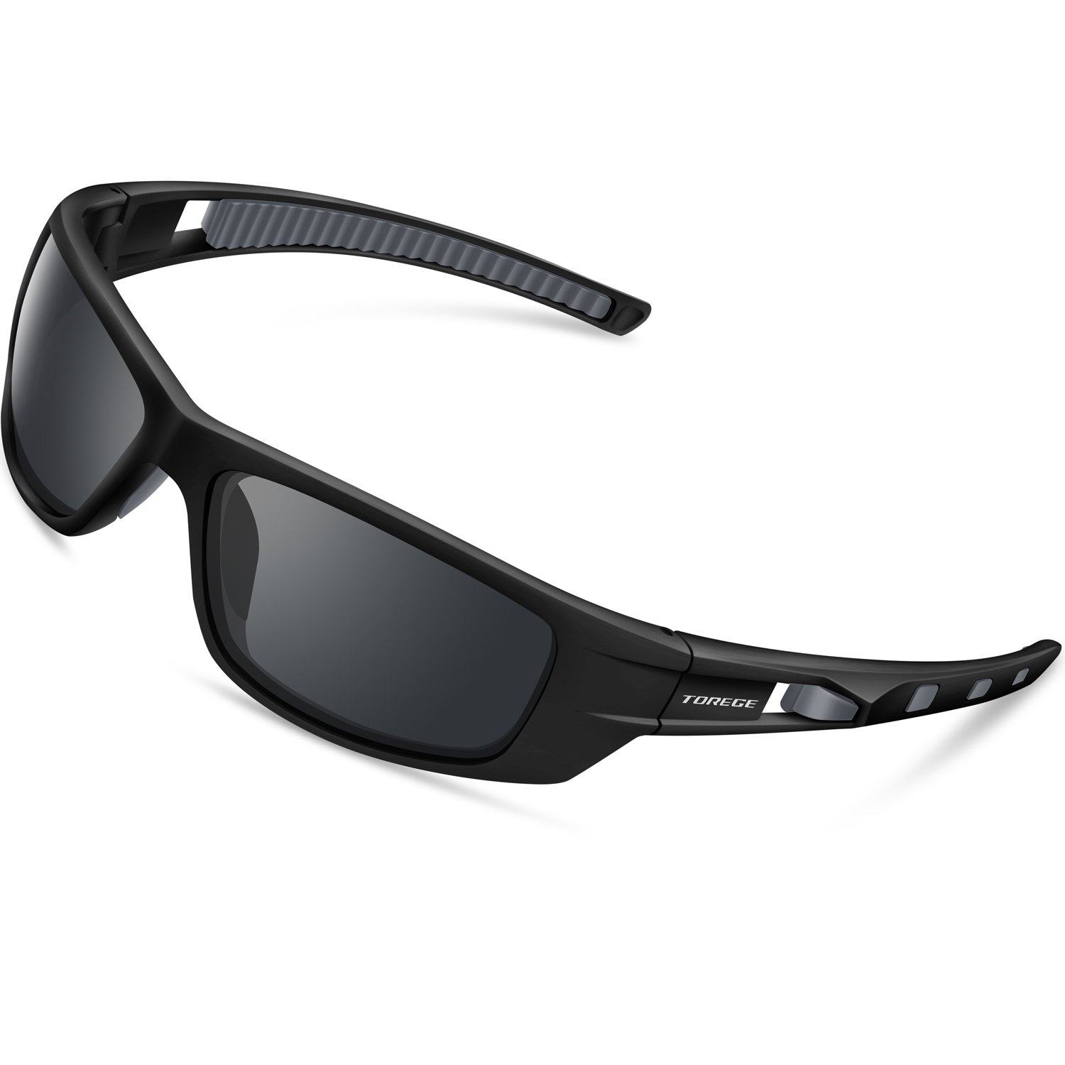 eb62f1e9d7a TOREGE Sports Sunglasses Polarized Glasses For Man Women Cycling Running  Fishing Golf TR040 product image