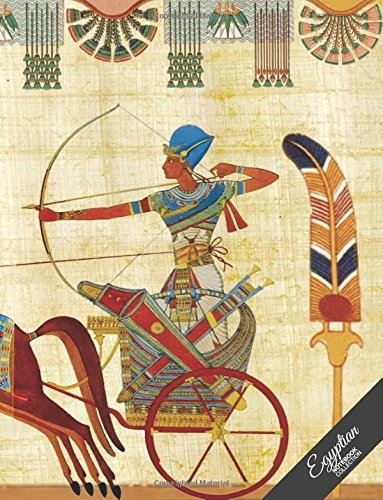 egyptian-notebook-collection-pharaohs-chariot-journal-diary-wide-ruled-100-pages-8-5-x-11-egyptian-art