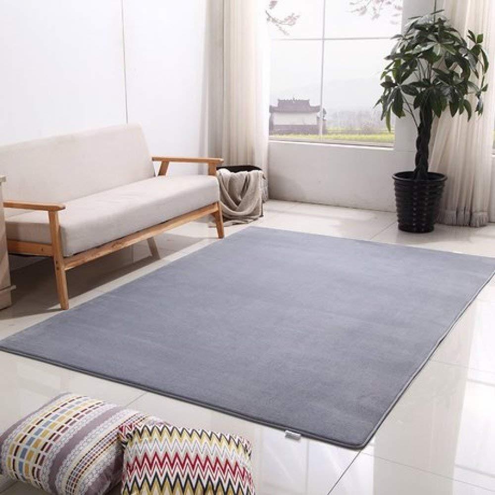 Kevin Bin Engrosada y Terciopelo Antideslizante coj/ín Dormitorio habitaci/ón Yoga Mat Sofa Mesa de Centro alfombras Dormitorio mesita de Noche Carpe Lavable T