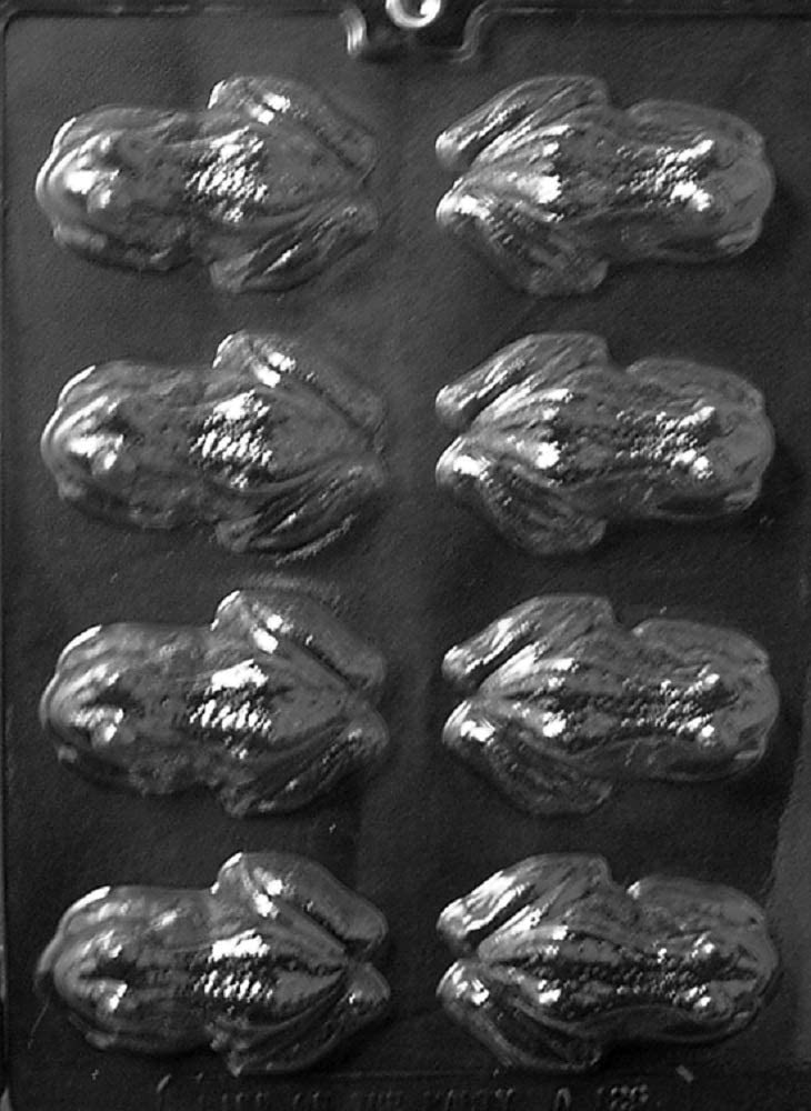 Grandmama's Goodies A126 Frog Chocolate Candy Soap Mold with Exclusive Molding Instructions … (1)