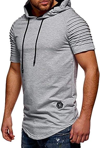 Ropa, Loveso Camiseta Hombre N Deportes Mens Sudaderas con ...