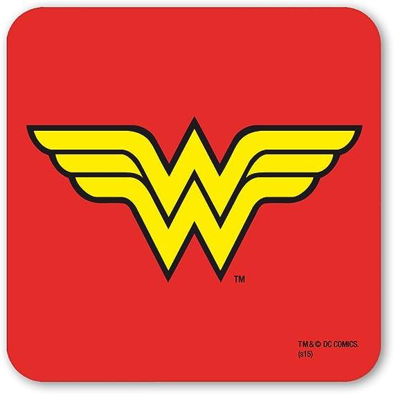 OFFICIAL DC COMICS WONDER WOMAN LENTICULAR COASTER DRINKS MAT