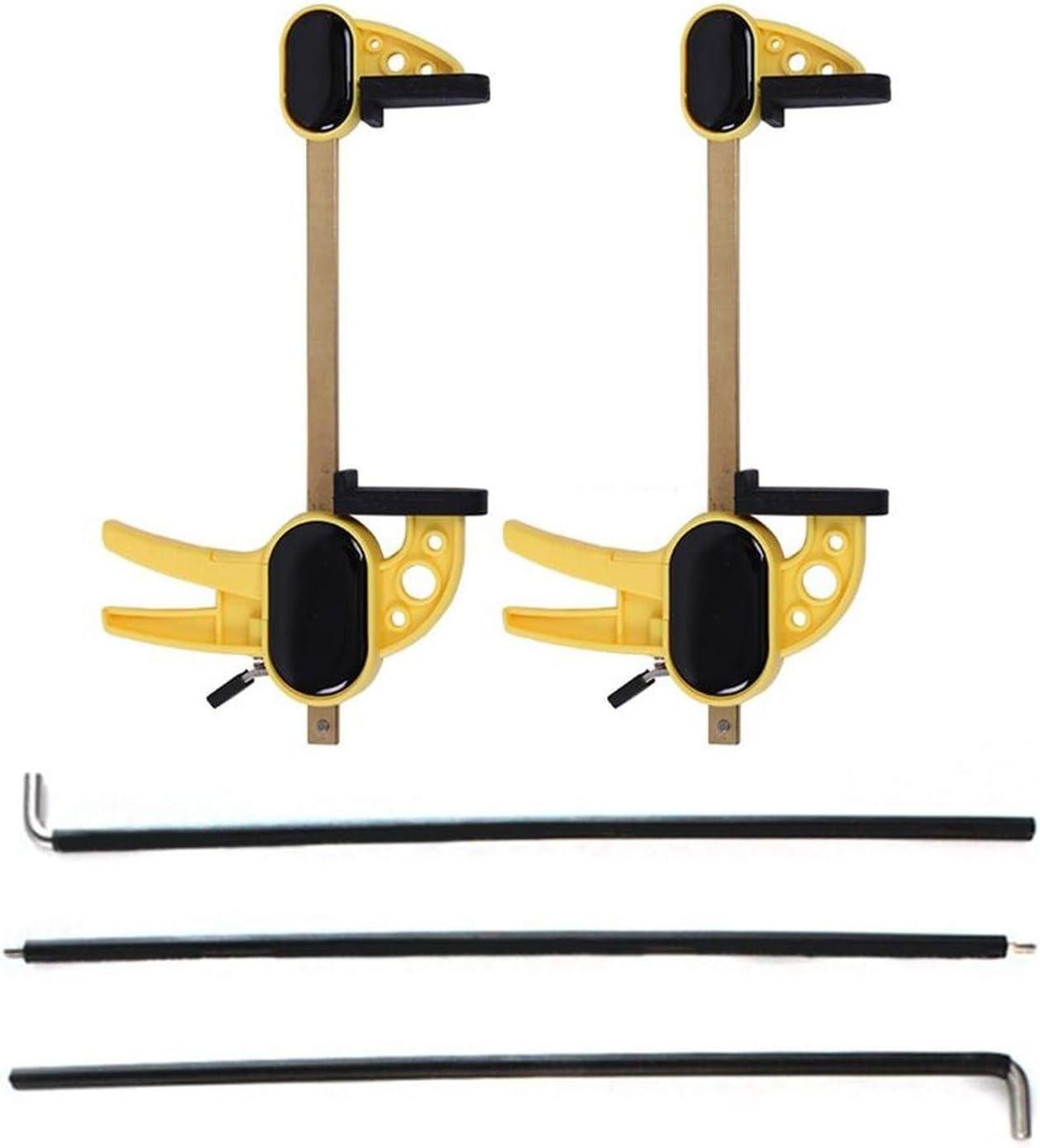 Ortesis de gestos de mano para piano, enderezador de dedos, muñequeras para ejercitador, corrector de gestos tipo para principiantes (amarillo)