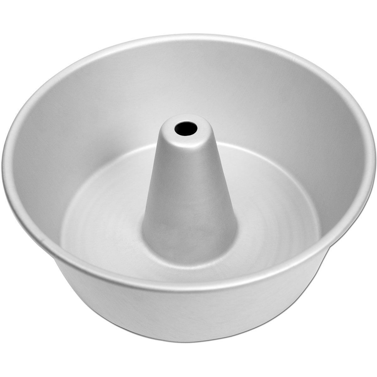 Fat Daddio's PAF-10425 ProSeries Anodized Aluminum Angel Food Cake Pan 10 x 4.25 Inch Silver